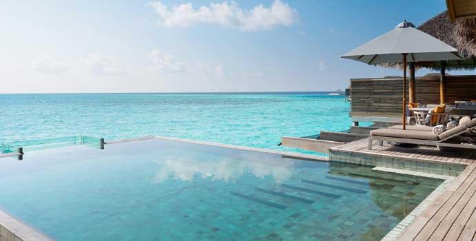 One Bedroom Over Water Pool Residence, Vakkaru Maldives