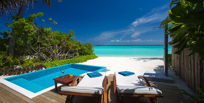 Pool, Beach Villa with Pool, Velassaru Maldives