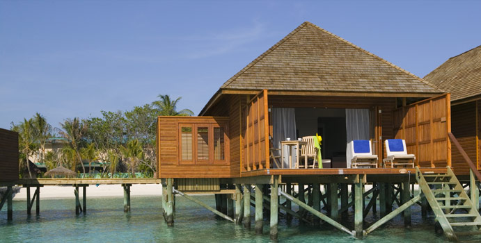 Jacuzzi Water Villa, Veligandu Island Resort