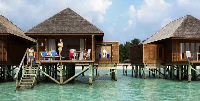 Sunset Jacuzzi Water Villa, Veligandu Island Resort