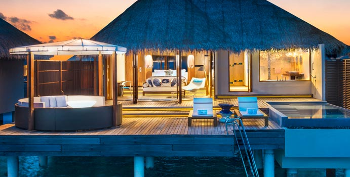 Spectacular Ocean Oasis, W Retreat & SPA Maldives