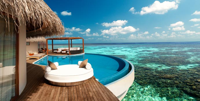 Extreme Wow Ocean Haven, W Retreat & SPA Maldives