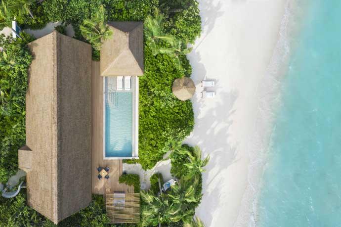 King Beach Villa with Pool, Waldorf Astoria Maldives Ithaafushi