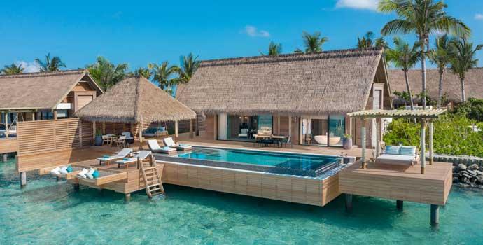 King Grand Reef Villa with Pool, Waldorf Astoria Maldives Ithaafushi